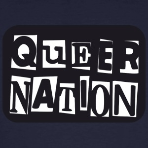 Queer Nation - Männer Bio-T-Shirt