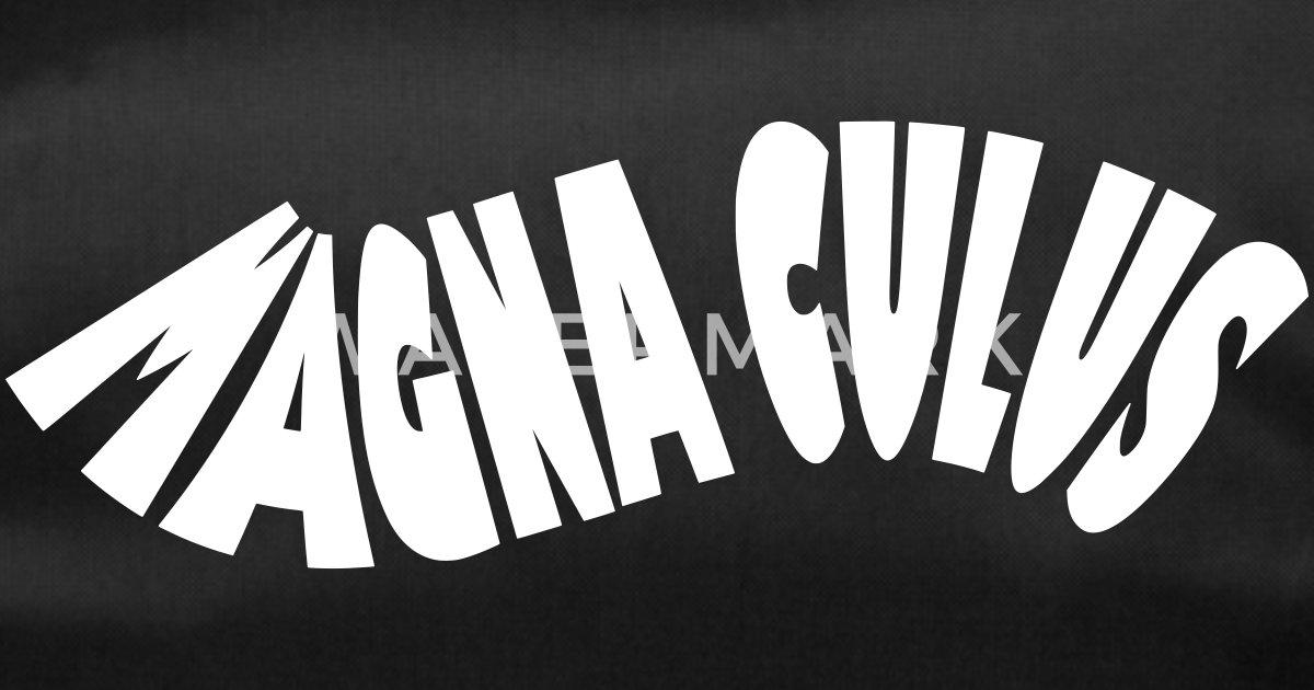 2cbd21206b Magna Culus vecteur blanc Sac de sport | Spreadshirt
