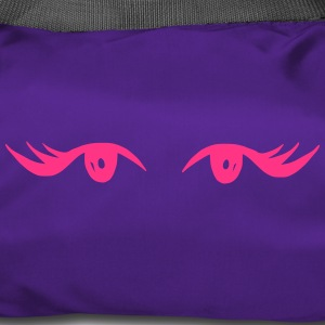 Beautiful eyes with beautiful eyelashes - Duffel Bag