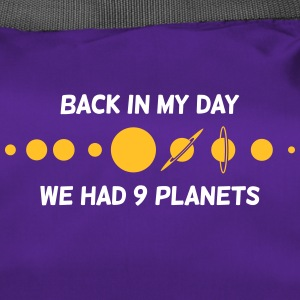 Back Then We Had 9 Planets! - Duffel Bag