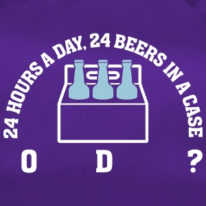24 Hours A Day ,24 Beers In A Case,Coincidence? - Duffel Bag