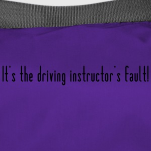 The driving instructor is to blame - Duffel Bag