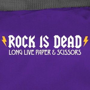 Rock Is Dead! Long Live Paper And Scissors. - Duffel Bag