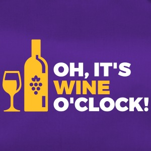 Het is Wine O'clock! - Sporttas