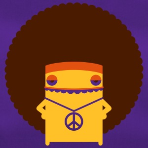 A Hippie With An Afro - Duffel Bag