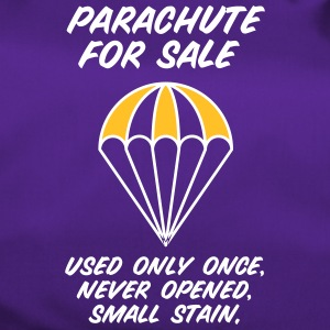 Parachute For Sale.Only Once Opened! - Duffel Bag