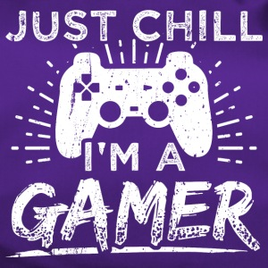 Funny Gamer Gaming Shirt Just Chill - Sporttasche