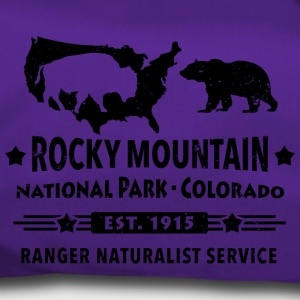 Rocky Mountain National Park Montagne Bison Grizzly Bear - Sac de sport