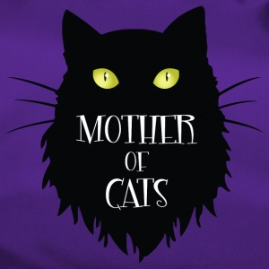 Mother Of Cats. Adorable Black Cat for Halloween - Sportsbag