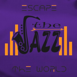 Escape the World Jazz Saxophone Music Passion Song - Duffel Bag