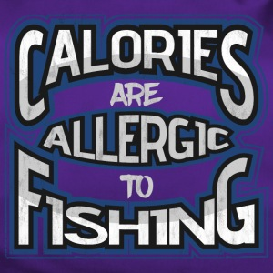 Calories are allergic to angling 2 - Duffel Bag