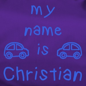 CHRISTIAN MY NAME IS - Duffel Bag