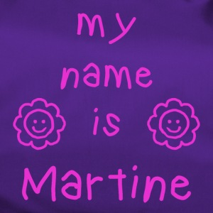 MARTINE MY NAME IS - Sac de sport