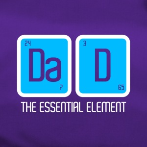 FATHER'S PAPA: DAD THE ESSENTIAL ELEMENT GIFT - Duffel Bag