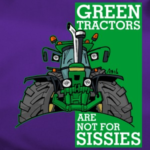 green tractors are not for sissies - Duffel Bag