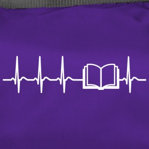 Heartbeat Reading Readeratte Books Cool Gift - Duffel Bag