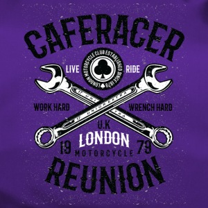 Caferacer Reunion. Motorcycle 1979 Shirt - Duffel Bag