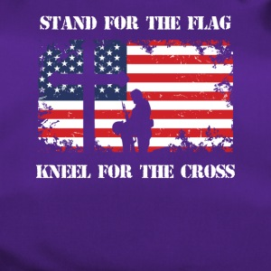 Stand For The Patriotic Kneel For The Cross Patriot - Duffel Bag