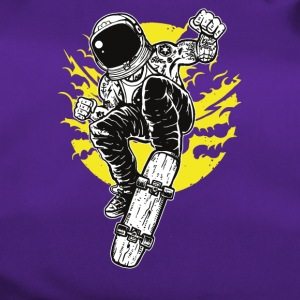 Astronaut Space Skater: Fly with skateboard! - Duffel Bag