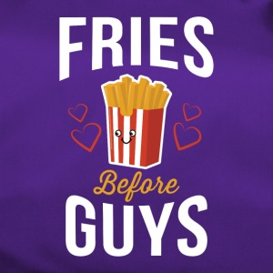 Fries Before Guys Pommes vor Jungs Shirt - Sporttasche
