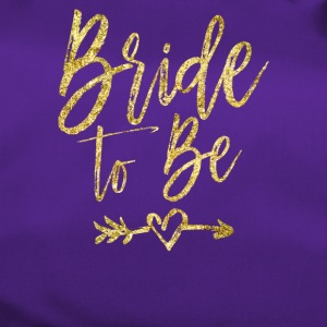 Womens Bride to be - Golden Imitation wedding - Bolsa de deporte