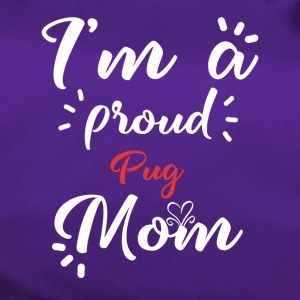 Mops shirt for proud pug moms - Duffel Bag
