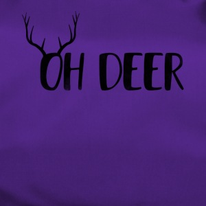 Oh Deer Ugly Christmas Design - Sporttasche