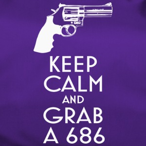 Keep Calm and Grab a 686 revolver t-shirt - Duffel Bag