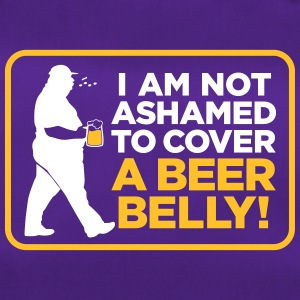 I Am Not Ashamed To Cover A Beer Belly! - Duffel Bag