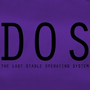 DOS - The Last Stable Operating System - Sporttasche