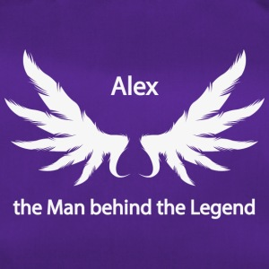 Alex the Man behind the Legend - Sporttasche