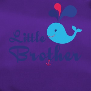 Little Brother. Whale, sea, anchor. Personalise - Duffel Bag