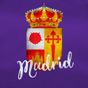Spanje Madrid crest Vacations Tourist herinnering lo - Sporttas