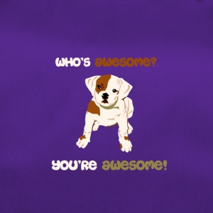 Dog T Shirt | Sweet dog - Awesome - Duffel Bag