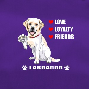 T-shirt Voor Honden | Labrador - Love - Loyalty - Friend - Sporttas