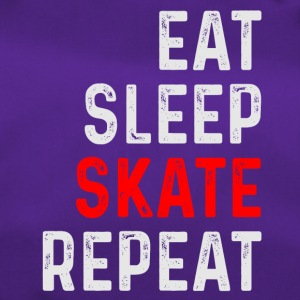 EAT SLEEP SKATE REPEAT SKATER SHIRT - Sac de sport