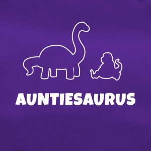 Auntiesaurus T Shirt Aunt Mama Mother's Day - Duffel Bag