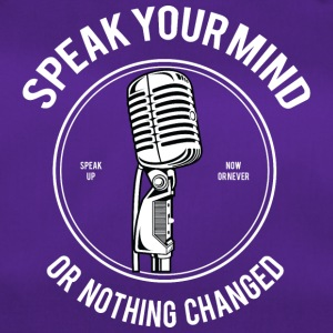 Speak Your Mind - Sporttasche