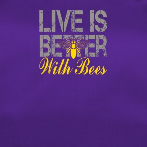 Life is better with bees! Beekeeper! - Duffel Bag