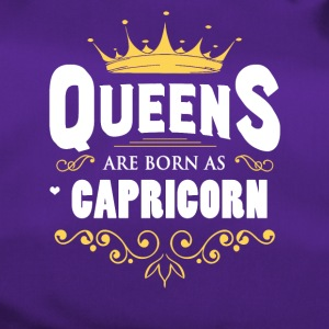 Queens Are Born As Capricorn - Duffel Bag
