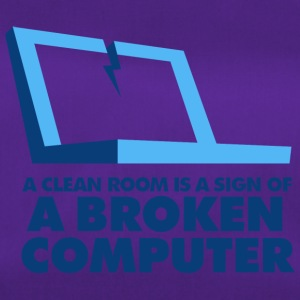 I Clean My Room Because My Computer Is Broken - Duffel Bag