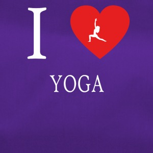 I Love yoga meditation 5 - Duffel Bag