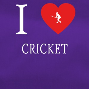 I Love CRICKET cricket - Sportstaske