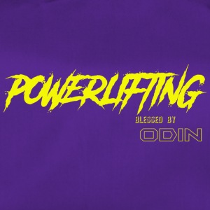 BLESSED BY ODIN powerlifting 2 - Duffel Bag