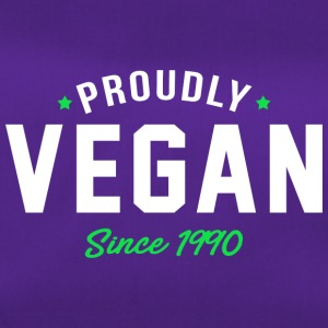 Vegan proud since 1990 proud vegan - Duffel Bag