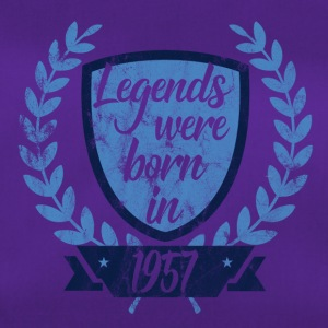 Legends were born in 1957 - Legends 1957 - Duffel Bag