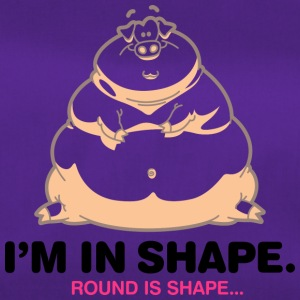 I'm In Great Shape,Round Is Shape! - Duffel Bag
