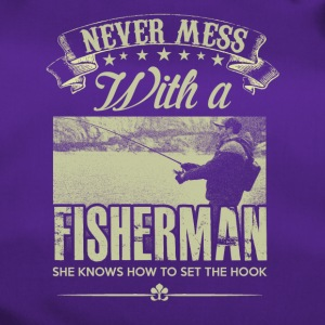 Never mess with a Fisherman - Duffel Bag