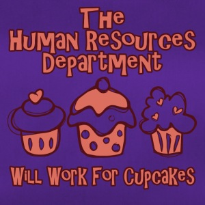 HRD wants work for cupcakes - Duffel Bag