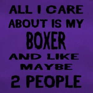 All i care about is my BOXER - Sporttasche